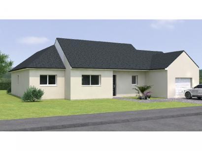 Modèle de maison PPL20112-3BGI 4 chambres  : Photo 1