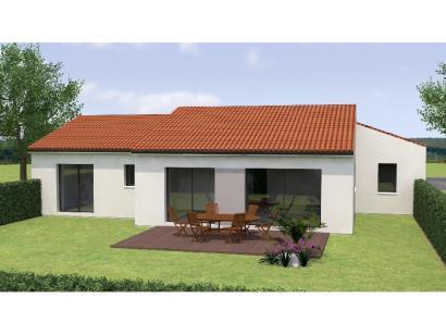 Modèle de maison PPL20121-4GI 4 chambres  : Photo 2
