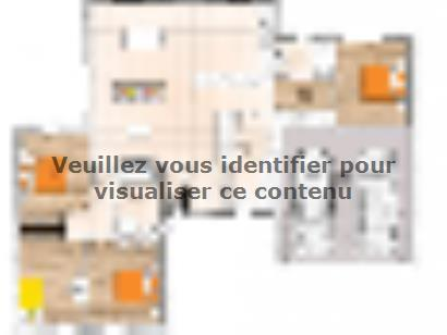 Plan de maison PPL20121-4GI 4 chambres  : Photo 1