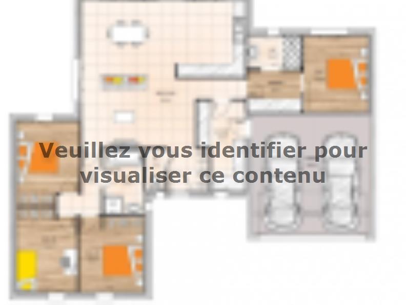 Plan de maison PPL20121-4GI : Vignette 1