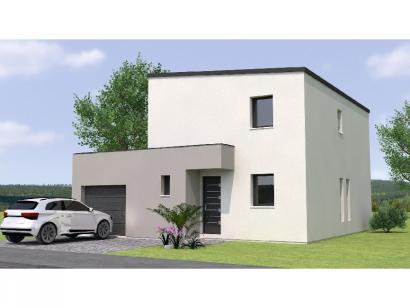 Modèle de maison R1MP2095-3GA 3 chambres  : Photo 1