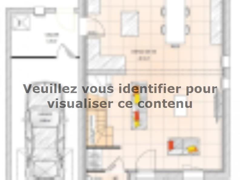Plan de maison R1MP2095-3GA : Vignette 1