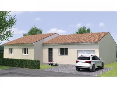 Modèle de maison PP20110-4GI 4 chambres  : Photo 1