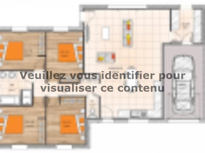 Plan de maison PP20110-4GI : Vignette 1