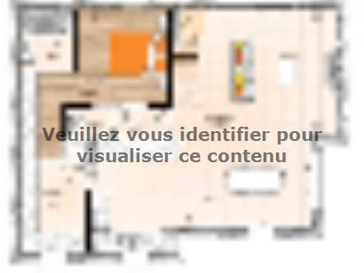 Plan de maison R120112-4 4 chambres  : Photo 1