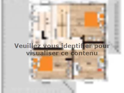 Plan de maison R120112-4 4 chambres  : Photo 2
