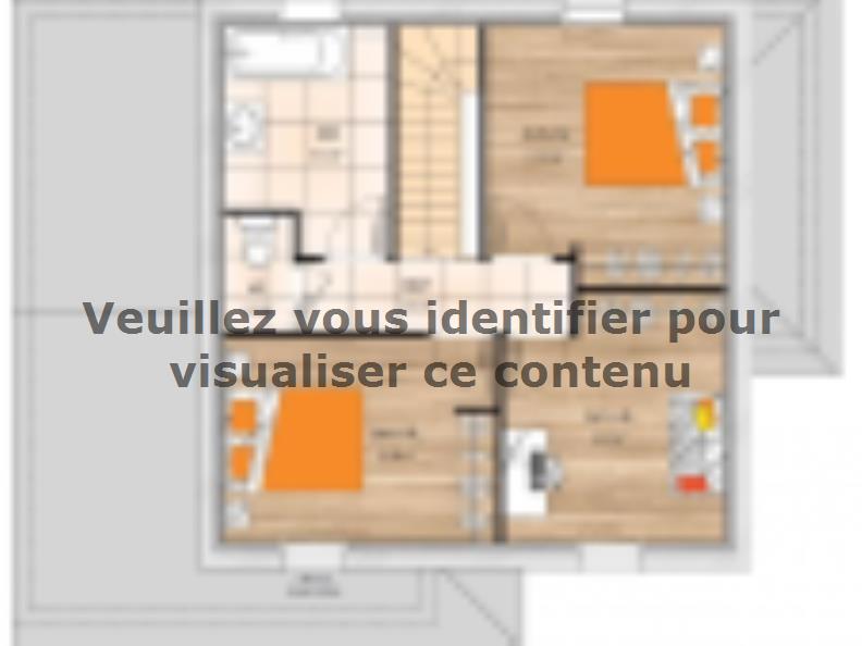 Plan de maison R120112-4 : Vignette 2