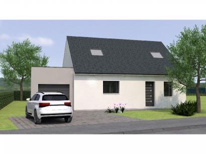 Modèle de maison RCA2096-3GA 3 chambres  : Photo 1