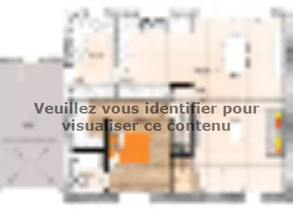 Plan de maison RCA2096-3GA 3 chambres  : Photo 1