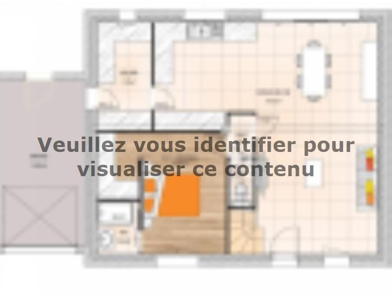 Plan de maison RCA2096-3GA : Vignette 1