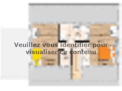 Plan de maison RCA2096-3GA 3 chambres  : Photo 2