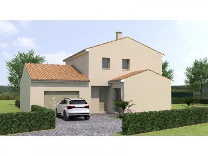 Modèle de maison R120130-4MGA 4 chambres  : Photo 1