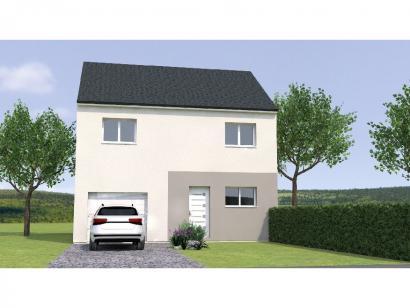 Modèle de maison R12081-3GI 3 chambres  : Photo 1