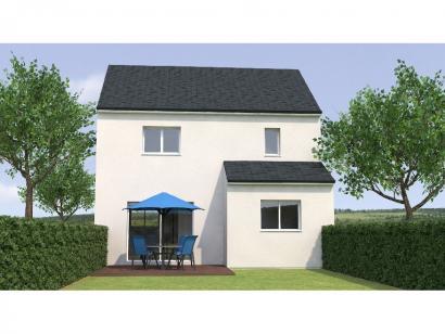 Modèle de maison R12081-3GI 3 chambres  : Photo 2