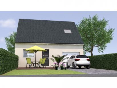 Modèle de maison RCA2086-3GI 3 chambres  : Photo 1