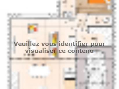Plan de maison RCA2086-3GI 3 chambres  : Photo 1