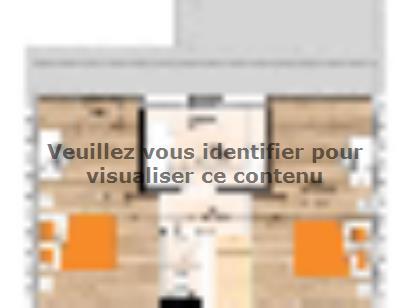 Plan de maison RCA2086-3GI 3 chambres  : Photo 2