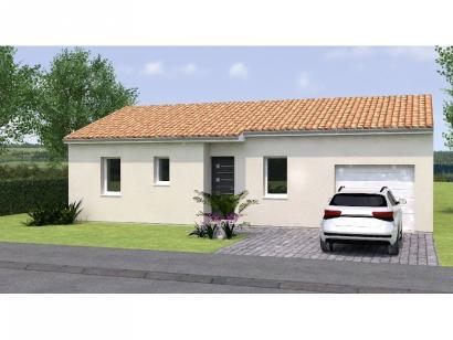 Modèle de maison PP2067-2GI 2 chambres  : Photo 1