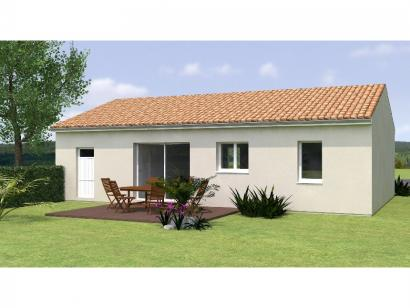 Modèle de maison PP2067-2GI 2 chambres  : Photo 2