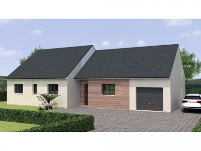 Modèle de maison PP20109-3GI 3 chambres  : Photo 1