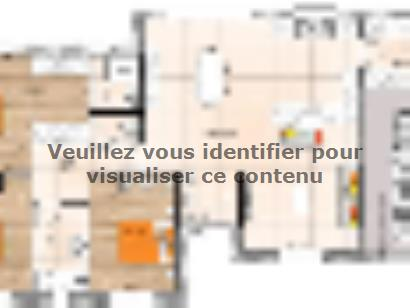 Plan de maison PP20109-3GI 3 chambres  : Photo 1