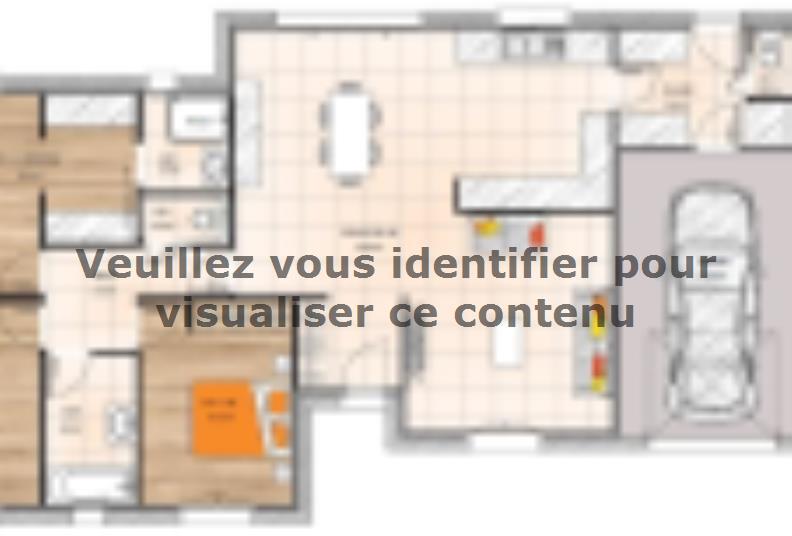 Plan de maison PP20109-3GI : Vignette 1