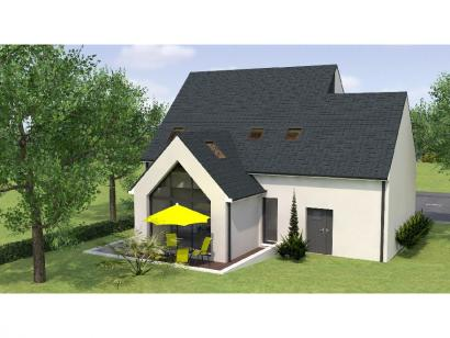 Modèle de maison RCA20130-4MGA 5 chambres  : Photo 2