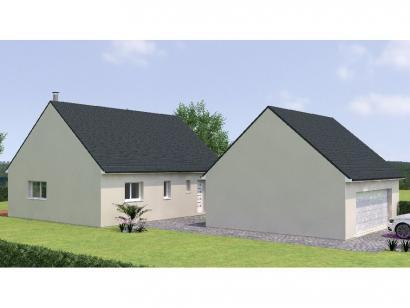Modèle de maison RCNA2086-1 1 chambre  : Photo 1