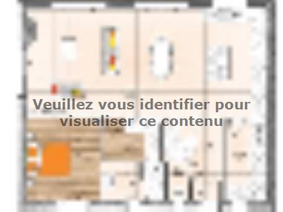 Plan de maison RCNA2086-1 1 chambre  : Photo 1