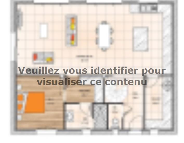 Plan de maison RCNA2086-1 : Vignette 1