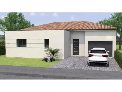 Modèle de maison PPL20109-2BGI 2 chambres  : Photo 1
