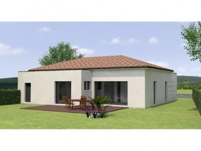 Modèle de maison PPL20109-2BGI 2 chambres  : Photo 2