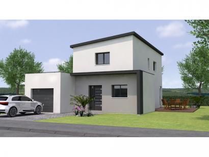 Modèle de maison R1MP20114-3BGI 4 chambres  : Photo 1