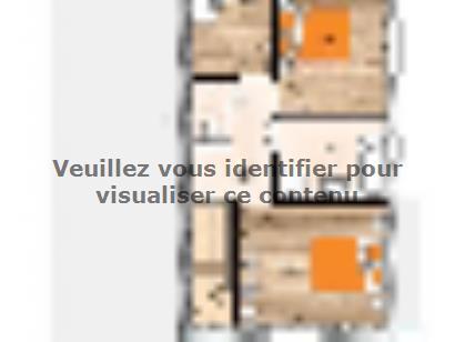Plan de maison R1MP20114-3BGI 4 chambres  : Photo 1
