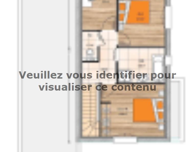 Plan de maison R1MP20114-3BGI : Vignette 1
