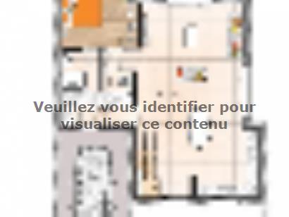Plan de maison R1MP20114-3BGI 4 chambres  : Photo 2