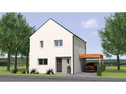 Modèle de maison R120105-3 3 chambres  : Photo 1