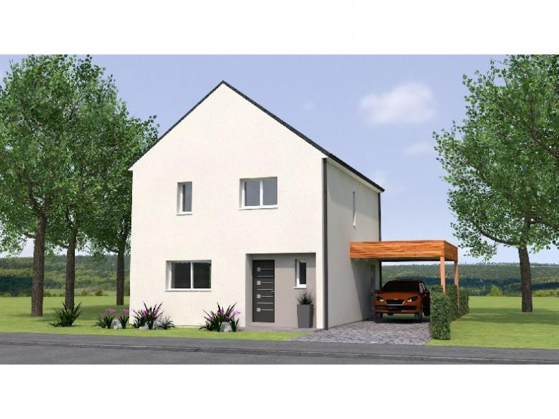 Modèle de maison R120105-3 : Vignette 1