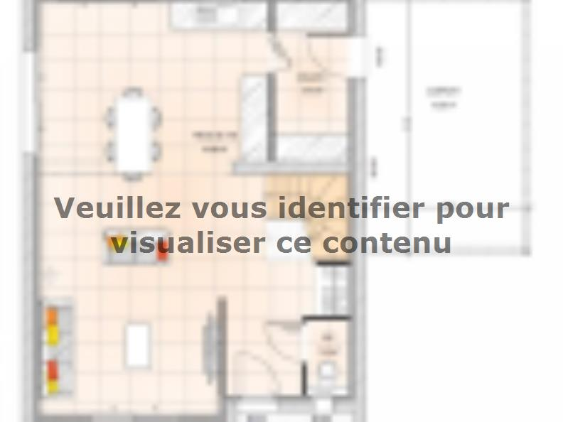 Plan de maison R120105-3 : Vignette 1