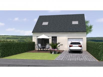Modèle de maison RCA2091-3GI 3 chambres  : Photo 1