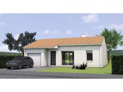 Modèle de maison PP2072-2GI 2 chambres  : Photo 1