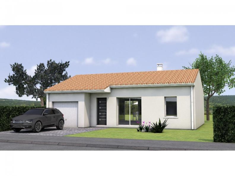 Modèle de maison PP2072-2GI : Vignette 1