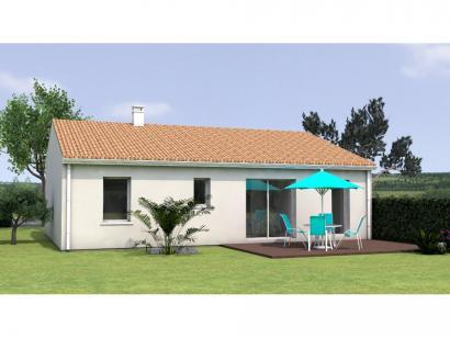Modèle de maison PP2072-2GI 2 chambres  : Photo 2