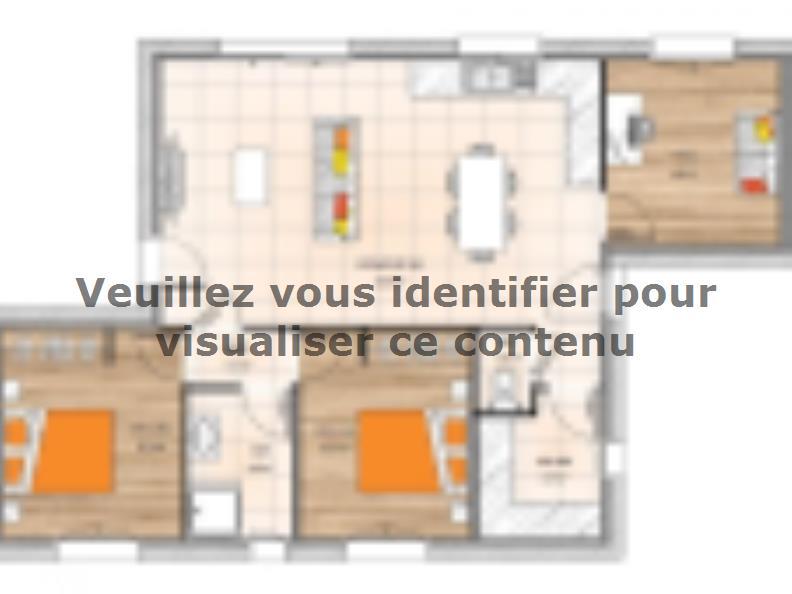 Plan de maison PPL2076-3 : Vignette 1