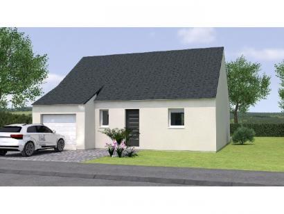 Modèle de maison PP2075-2GI 2 chambres  : Photo 1