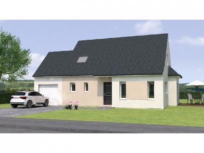 Modèle de maison RCA20113 -4GA 4 chambres  : Photo 1
