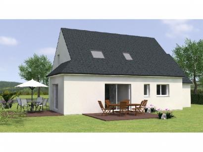 Modèle de maison RCA20113 -4GA 4 chambres  : Photo 2