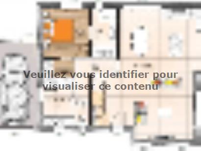 Plan de maison RCA20113 -4GA 4 chambres  : Photo 1