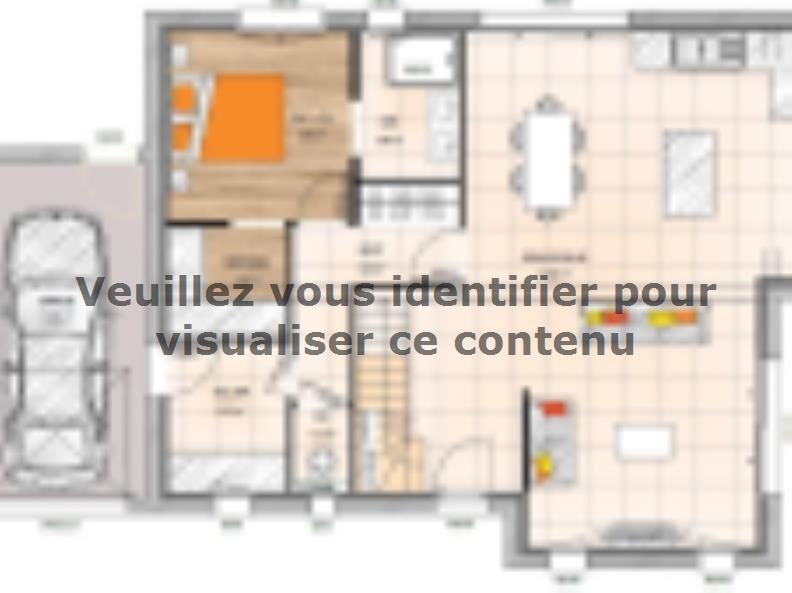 Plan de maison RCA20113 -4GA : Vignette 1