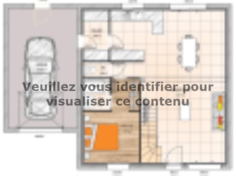 Plan de maison RCA20105-5GA : Vignette 1